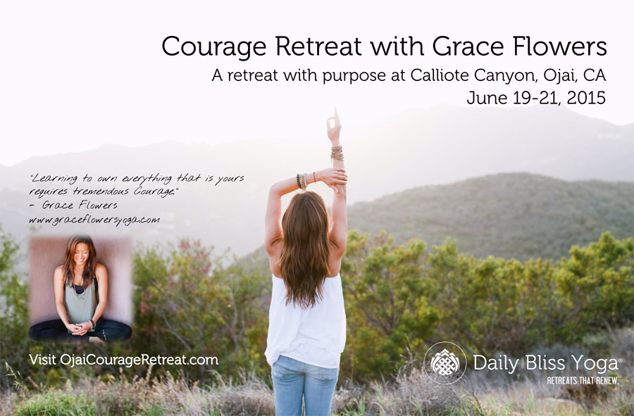 Grace Flowers - Ojai Courage Retreat